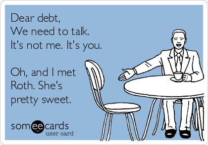 Dear Debt