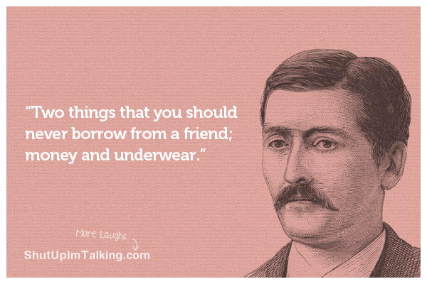 Never Borrow Money